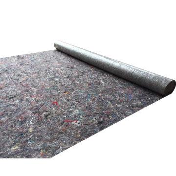 Esgrima almohadilla prendas materiales de embalaje punzón tela no tejida con PE recubierto
