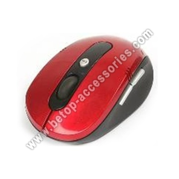 Red 2.4G Wireless Mouse