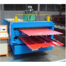 Machine de formage de panneaux de toit en tôle d'acier galvanisée à double couche