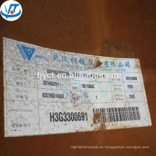 Laminados a quente A588 placa de resistência a intempéries Corten A preço de fábrica