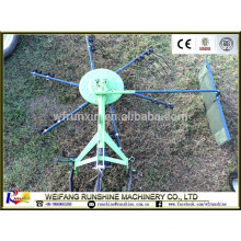 Ce certificated mini Rotary hay rake