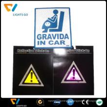 Производитель Китай флуоресцентные светоотражающие наклейки на указатель