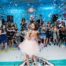 Populaire en plastique de mariage / décoration de fête Push-pop Confetti rond / Party cannon