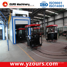 Powder Coating Line with Dipping & Spraying Pretreatment System