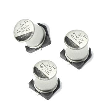 Aluminiumelektrolytischer Kondensator Soem-ODM Obm SMD