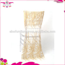 2016 new design wedding hotel party sequin chair cover