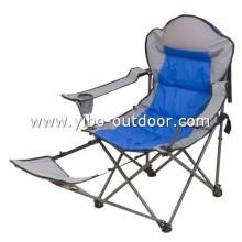 silla de playa con reposapiés