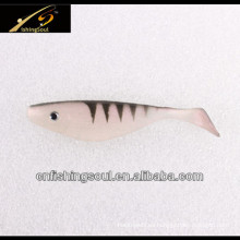Cebos de natación suaves del señuelo de la pesca del Shad del plástico SLL045
