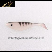SLL045 Plastic Shad Fishing Lure Soft Swim Baits
