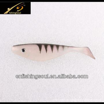 Cebos Shad plástico SLL045 muestra gratis señuelo suave de la pesca
