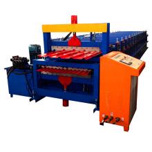 xn Rollo de panel de techo de doble capa que forma la máquina
