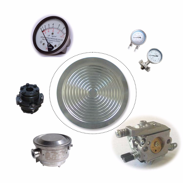 anticorrosion tantalum diaphragm for pressure gauge