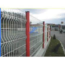 PVC-beschichtete Gartenzaun-Maschenöffnung 50X200mm