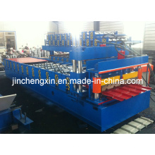 740/914 gvanisierte Stahlfliesen-Rollformungsmaschinen