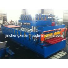 740/914 Maquinaria perfiladora de tejas de acero Glavanized