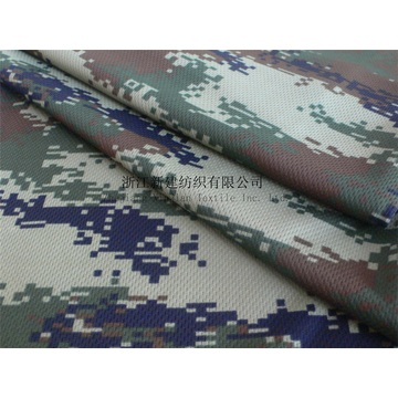 Tissu Polyester Tricot Camouflage pour T-shirt