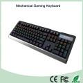 Materiais de alumínio 104 Keys Mechanical Gaming Keyboard