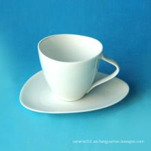 Juego de taza de café de porcelana, estilo # 354