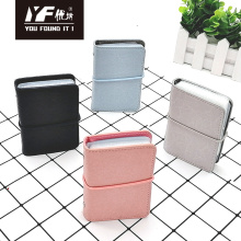 Fashion textured pattern PU credit id card holder