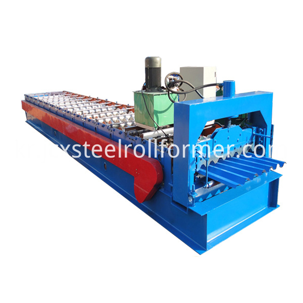 750 Profile roll forming Machine