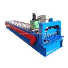 Rolo de telhado de aço grande perfil ondulado dá forma à máquina