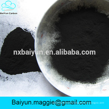 Wood based powder activated carbon for h2s removal