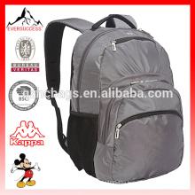 Gray Day Backpack with quilted Laptop Compartment Bag