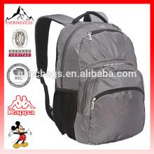Серый день рюкзак со стеганой отсека для ноутбука Сумка