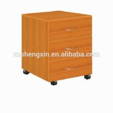 Cabinets en bois à 3 tiroirs Armoires à rangement en bois massif