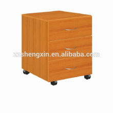 3 Drawer Wooden Lockers Solid Wood Storage Cabinets