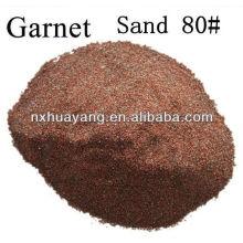 80 # Sandstrahlschleifgranat / 80 Masche Wasserstrahlschneiden-Granat