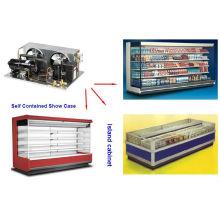 Refrkgerating spare r404a exchanger 240v/ freezing machine for sale