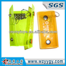 Principais carteiras pvc de cor amarela refletiva