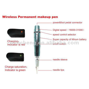 Rechargeable Permanent Makeup tattoo making machines