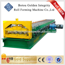 Cubierta de piso de alta calidad que forma la máquina hecha en China, azulejo de suelo que hace la máquina