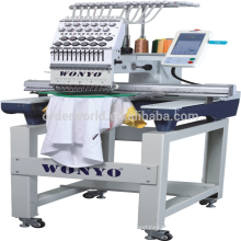 Single Head 15 Colors Computerized Embroidery Machine Price in China