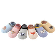 2019 Hot Selling Spring Combed Cotton Baby Toddle Floor Shoes Anti Best Non Slip Socks For Toddlers