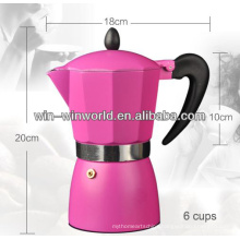 Aluminum Colored Smart Espresso Coffee Maker Machines