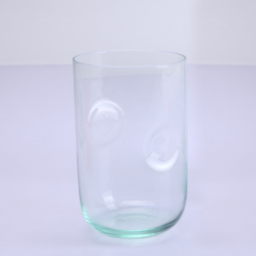 Handgeblazen Lignt Green Vase Glass