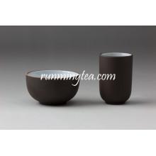 China Zisha arcilla color negro taza de té conjunto con mejores precios