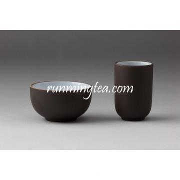 Chinês Zisha argila cor preto chá copo definido com melhores preços