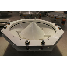 Best Selling Discharge Vibrating Screen for Electromagnetic Material