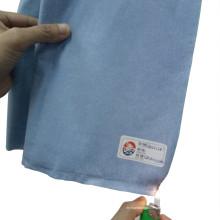 Type de retardateur de flamme type 5 / Type6 Tissu non tissé à tissus non tissés Cellulose et polyester