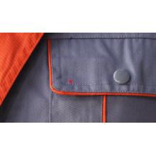 Tecido uniforme de trabalhador de sarja poliéster algodão