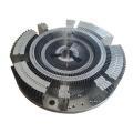 200W Round LED Heatsink Aluminum Fins Heatsink