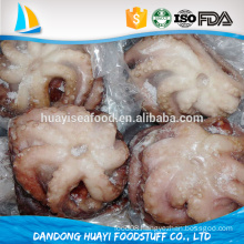 the iqf frozen flower cooked octopus