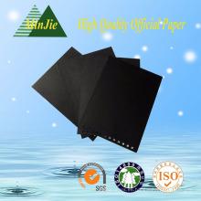Cartulina negra de alta calidad personalizada de buena calidad