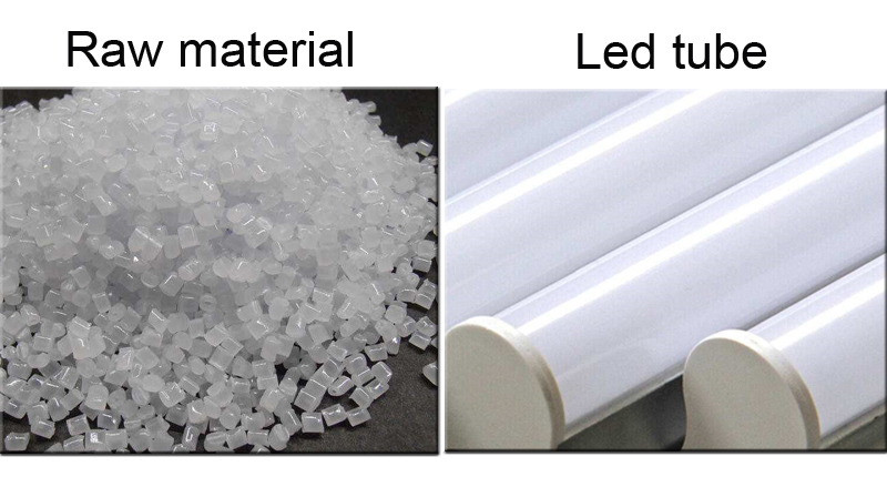 Pc Tube And Material