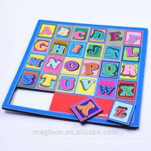 Die cut EVA Foam Alphabet Fridge Magnet