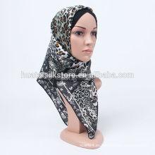 2014 nuevas fotos turco del leopardo del diseño del hijab